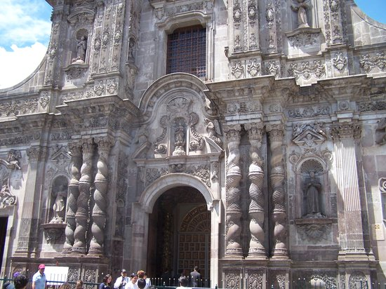 Quito, Ecuador: church