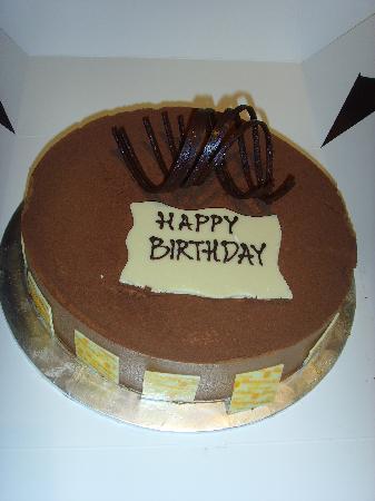 Shangri-La Hotel Kuala Lumpur: the birthday cake
