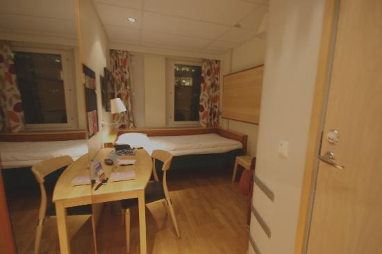 Comfort Hotel Xpress Stockholm Central: Cozy room at the Comfort XPress