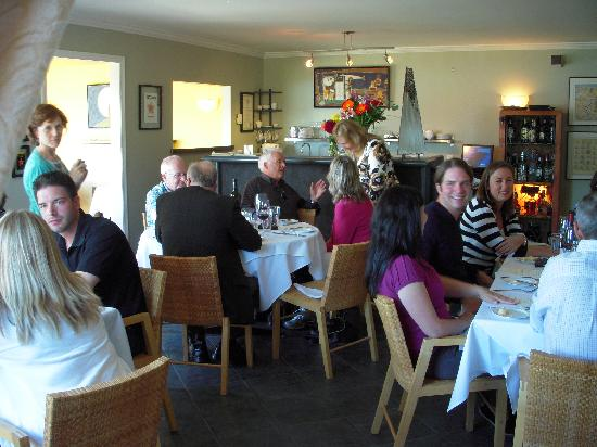 Markus' Bistro & Dinner Club: The entire group enjoying the moment