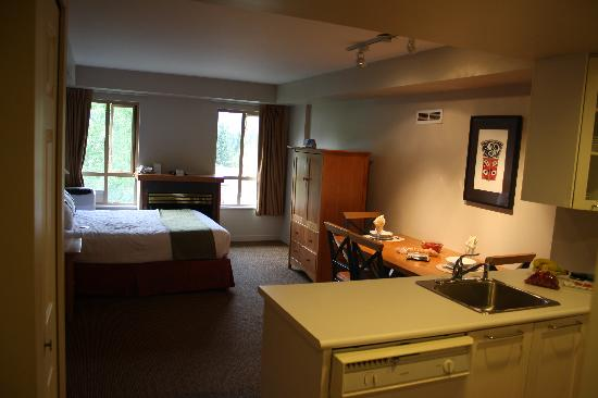 Whistler Peak Lodge: Room layout
