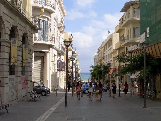 Atrion Hotel: Via del centro di Heraklion