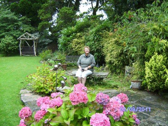 Hazeldean Guest House: The garden