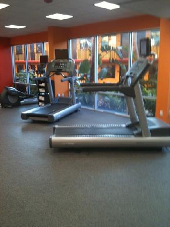 Coco Key Hotel and Water Park Resort: the gym