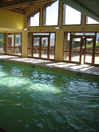 Les Chalets de Celine: la piscine