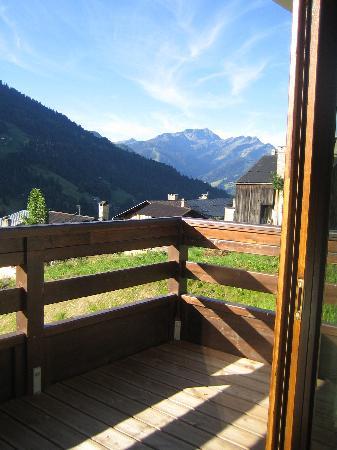 Les Chalets de Celine: la vue de la terrasse