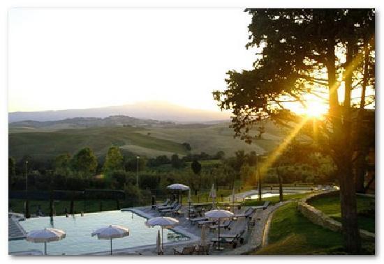 San Casciano dei Bagni, Italia: bellissima vacanza