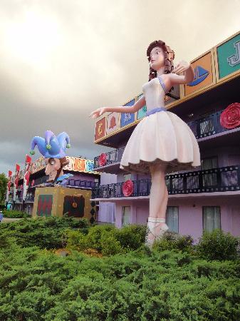 Disney's All-Star Movies Resort: L'hotel 1