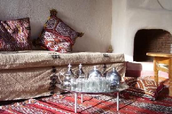 Dar Achorafa: salon Villa