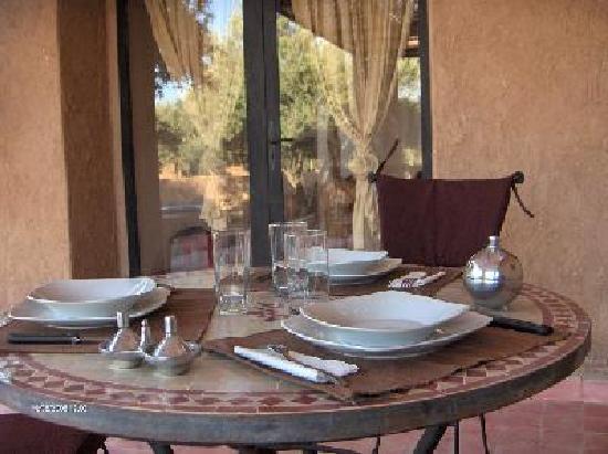 Dar Achorafa: terrasse Villa
