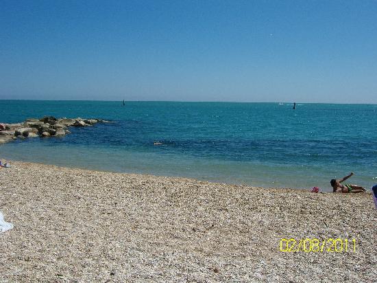 Porto Recanati, Italia: Spiaggia