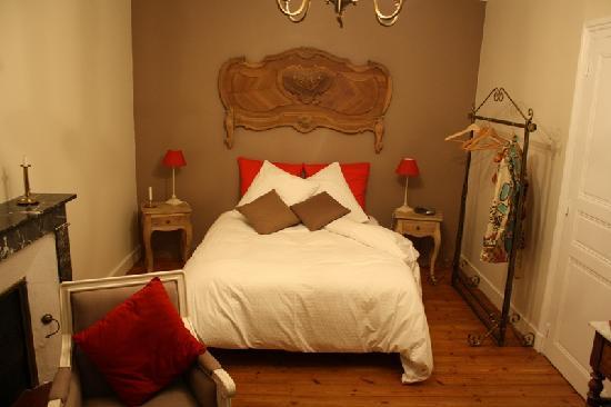 Chambres d'hotes Le Moulin : Chambre la belle époque