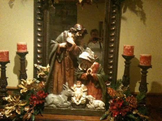 The Inn at Christmas Place: Hallway creche'