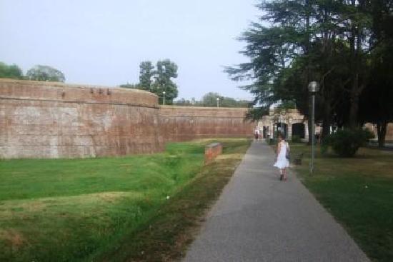 B&B Il Giardino del Pettirosso: wall around lucca