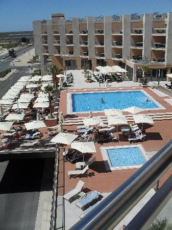 Real Marina Hotel & Spa: View from room towards pool.