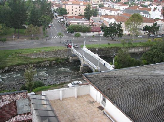 Hostal Turista del Mundo: View from rear balcony