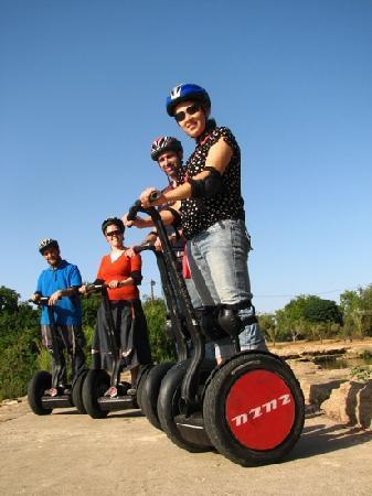 Zu-zu Segway Tours: TLV segway tour