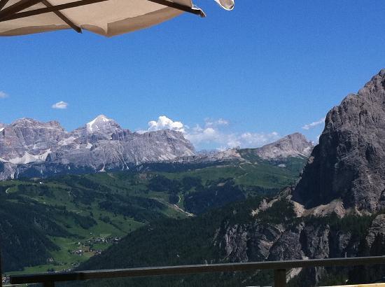 Hotel Condor: Aussicht von den umliegenden Bergen