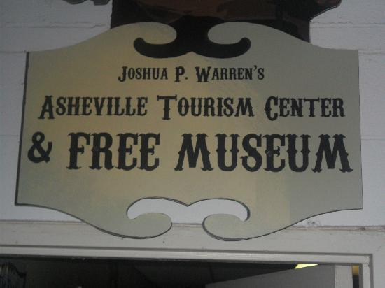 Haunted Asheville Ghost Tours: Entrance to the museum