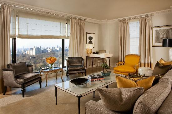 The Carlyle, A Rosewood Hotel: One of The Carlyle's Central Park Tower Suites, offering views of Central Park
