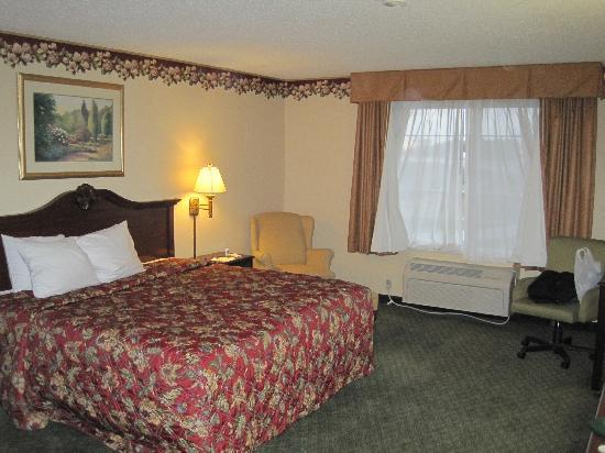 Country Inn & Suites By Carlson, Indianapolis Airport South, IN: Room w/ King Bed