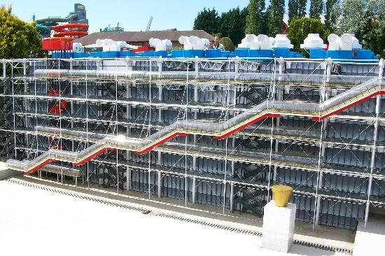Mini-Europe : Piccolo Centre Pompidou di Parigi