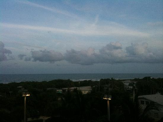 Hampton Inn Cocoa Beach/Cape Canaveral: View from balcony