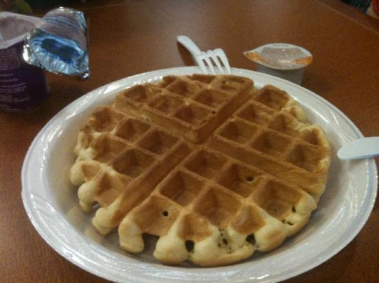 Hampton Inn Cocoa Beach/Cape Canaveral: make your own waffles