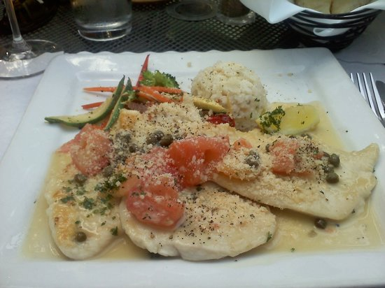 Eagle, ID: Chicken Picatta Plate