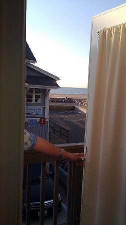 Beach Walk Hotel: View from private balcony