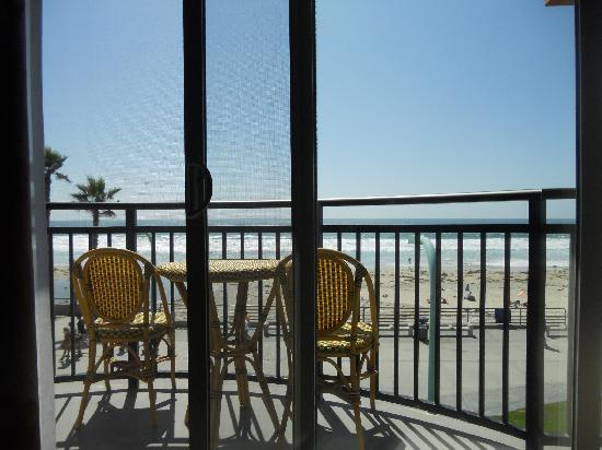 Ocean Park Inn: Balcony of Room 323