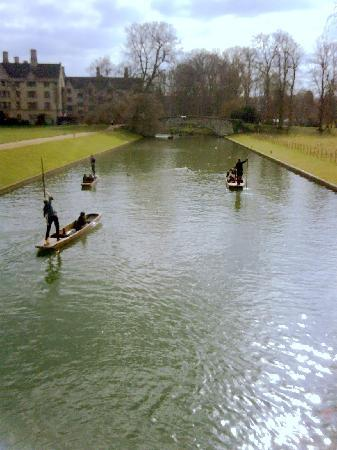 Regent Hotel: You must try punting on the Cam!
