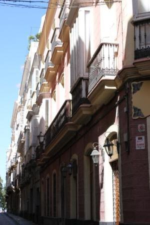Cadiz, إسبانيا: Cadiz Balconies