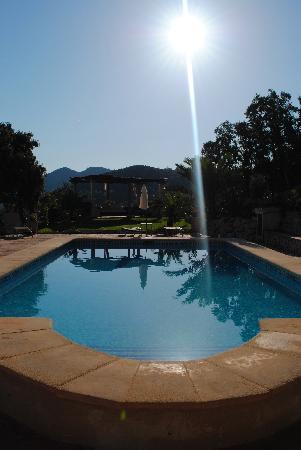 Caserio del Mirador: Just before a dip