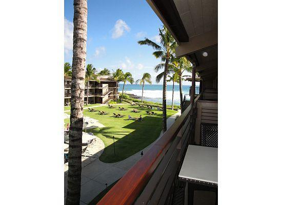Koa Kea Hotel & Resort: Partial Ocean View from our lanai