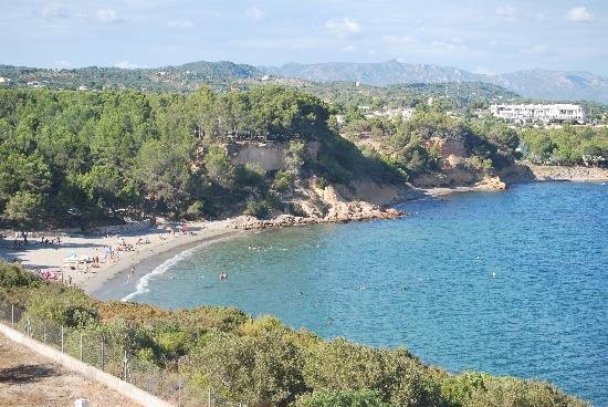 L'Ampolla, Spanien: Playa Cap Roig