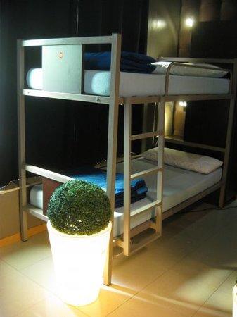Albergue Santo Santiago: dormitorio