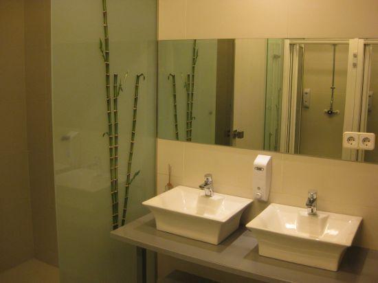 Albergue Santo Santiago: cuartos de baño