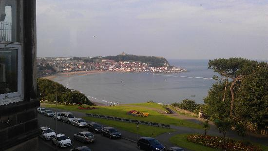 Mansion House Scarborough: View from room 11