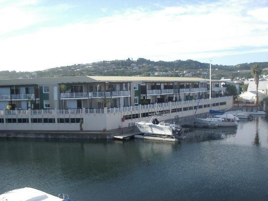 Apartments at Knysna Quays: View Out of Porch From Apt. #11