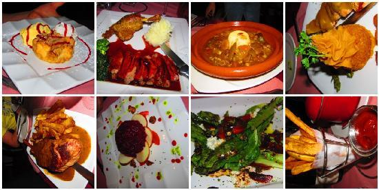 Joelles French Bistro: A Selection of the Food