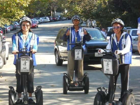 Electric Tour Company Segway Tours: Segway, the only way.