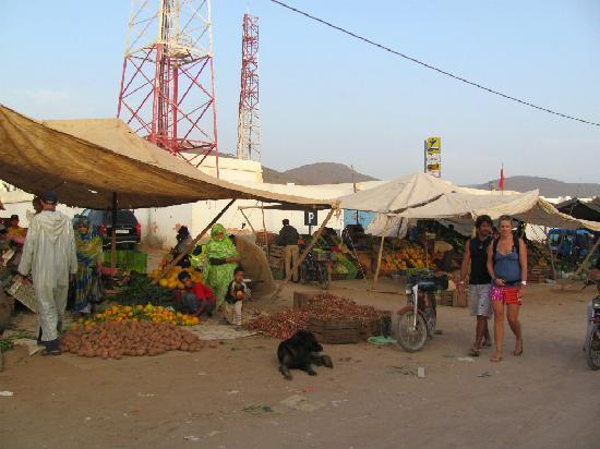 Aftas Beach Guest House: Mirleft Market