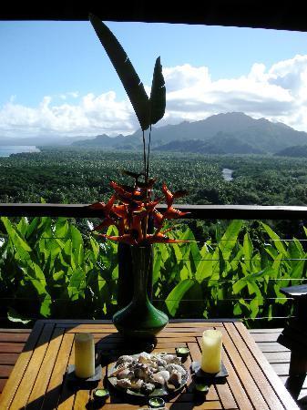 Emaho Sekawa Resort: view from the Villa