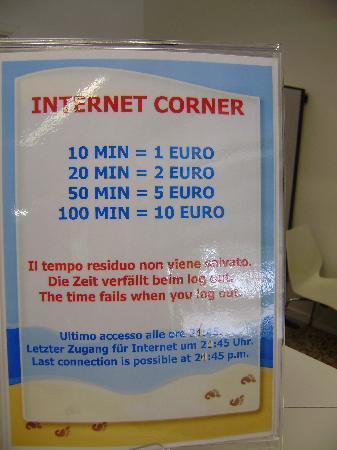 Camping Village Marina di Venezia: internet rates