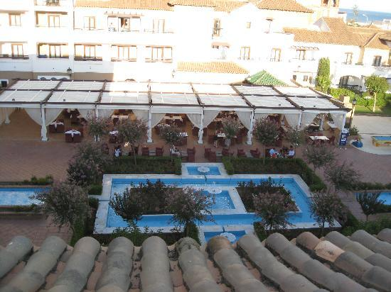 Isla Canela, Espanha: Qué pena de hotel