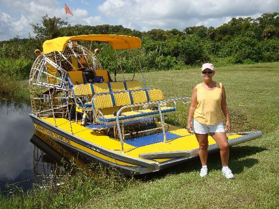 Aquatic Adventures Airboat Tours: My wife wants to drive!!!!!