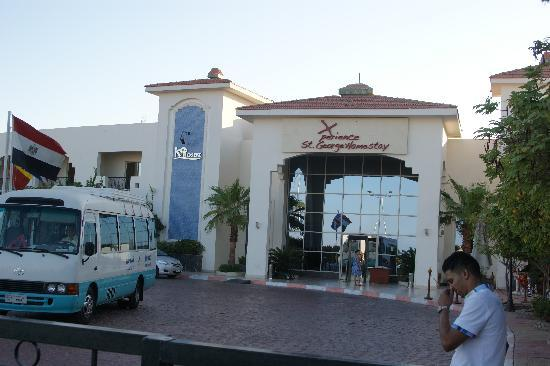 Xperience St. George Homestay: Hotel entrance