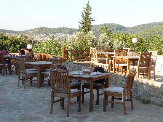 Ocakkoy Holiday Village: view from  restaurant terrace