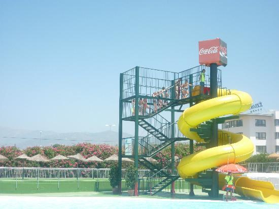 Aquavelis Water Park: one of the slides